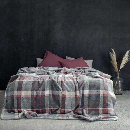 Κουβέρτα Βελουτέ Υπέρδιπλη 220X240 Nima Terrene