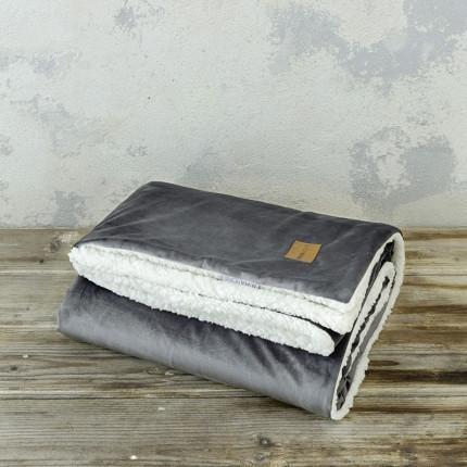 Κουβέρτα Καναπέ 130X170 Nima Nuan Dark Gray