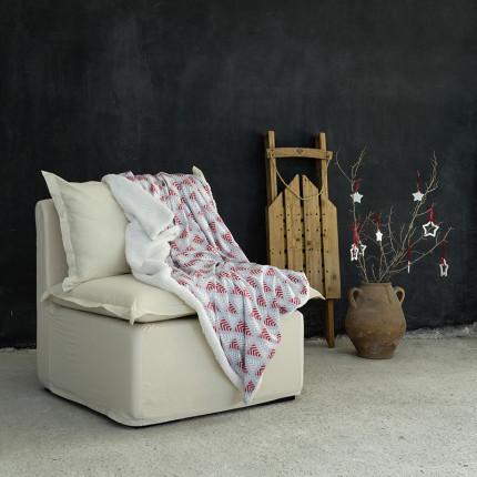 Χριστουγεννιάτικη Κουβέρτα Καναπέ 130X170 Nima Albero