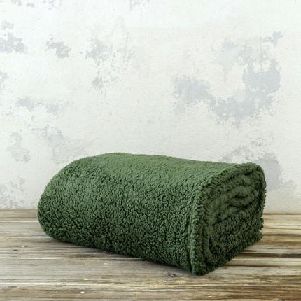 Κουβέρτα Fleece Μονή 150X220 Nima Manta Forest Green