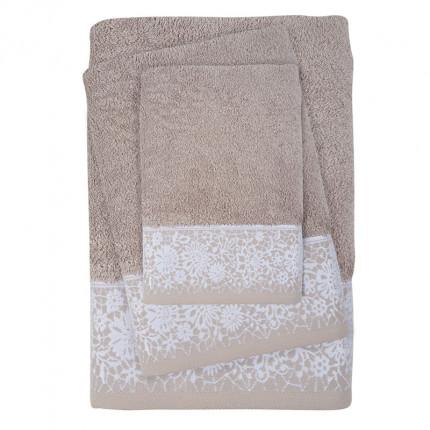 Πετσέτες Μπάνιου (Σετ 3 Τμχ) Das Home Soft Daily 0433