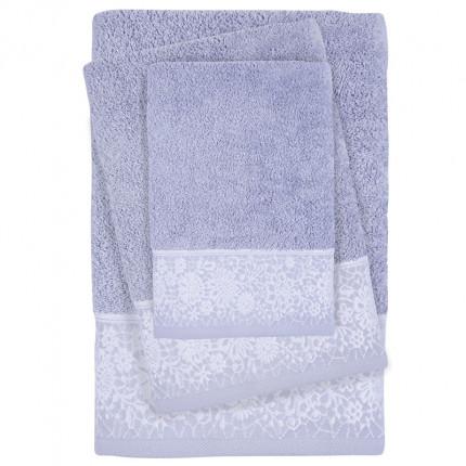 Πετσέτες Μπάνιου (Σετ 3 Τμχ) Das Home Soft Daily 0434