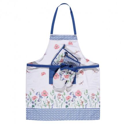 Σετ Κουζίνας 3 Τμχ Das Home Kitchen 0597 Μπλε