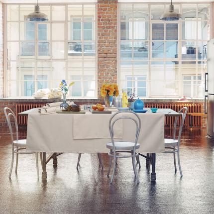 Πετσέτες Φαγητού ( Σετ 4 Τμχ) 40x40 Das Home Table 0544 Ιβουαρ
