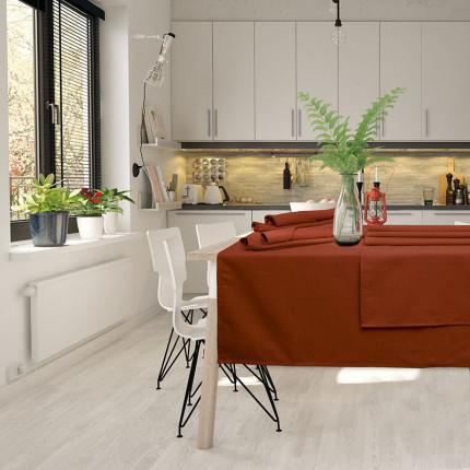 Πετσέτες Φαγητού ( Σετ 4 Τμχ) 40x40 Das Home Table 0546 Κεραμιδι