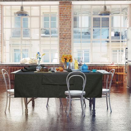 Πετσέτες Φαγητού ( Σετ 4 Τμχ) 40x40 Das Home Table 0548 Γκρι