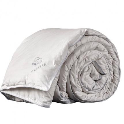 Πάπλωμα Λευκό Μονό 160X240 Kentia Αccesories Pure Cotton Λευκό