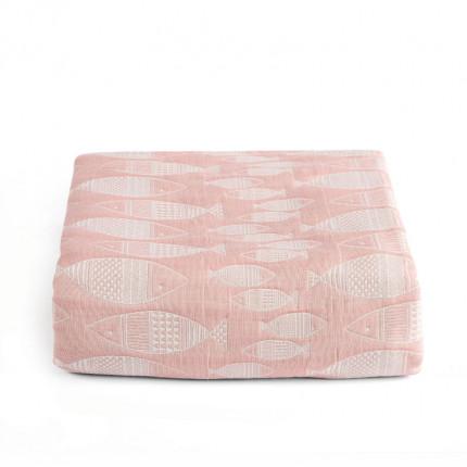 Κουβερτόριο Μονό 160X240 Kentia Loft Yin-Yang 14 Ροζ