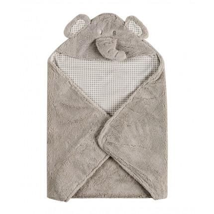 Κουβέρτα Fleece Αγκαλιάς 75X75 Kentia Versus Rocco 22 Γκρι