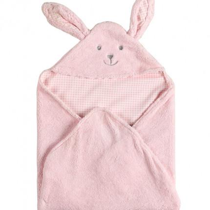 Κουβέρτα Fleece Αγκαλιάς 75X75 Kentia Versus Rocco 14 Ροζ