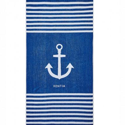 Πετσέτα Θαλάσσης 80X160 Kentia Loft Deck Μπλε