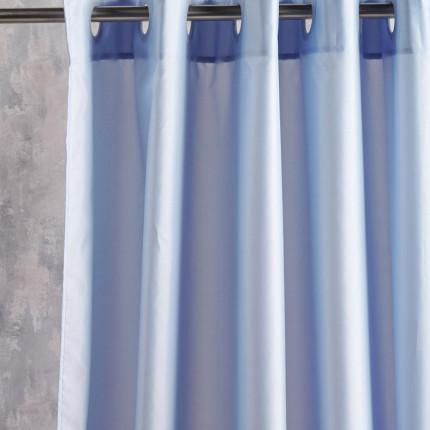 Κουρτίνα Μπάνιου 180X200 Kentia Loft Brisk 35 Γαλάζιο