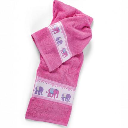 Παιδικές Πετσέτες (Σετ 2 Τμχ) Kentia Loft Bollywood Ροζ