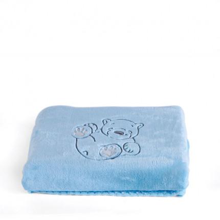 Κουβερτόριο Αγκαλιάς 80X110 Kentia Stylish Polar Μπλε