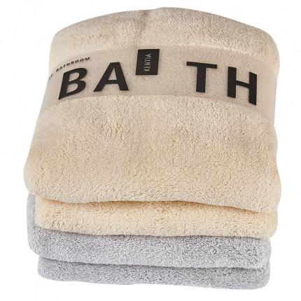 Πετσέτες Προσώπου (Σετ 2 Τμχ) 35X75 Kentia Versus 2204 2204