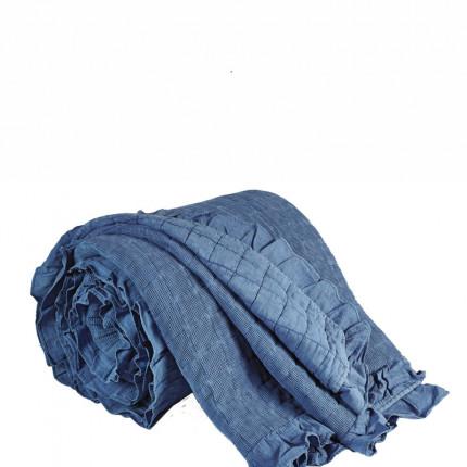 Κουβερλί Ημίδιπλο 180X240 Kentia Stylish Jemina 19 Μπλε