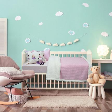 Κουβέρτα Πλεκτή Αγκαλιάς 80x110 Das Home Relax 6411 Ροζ