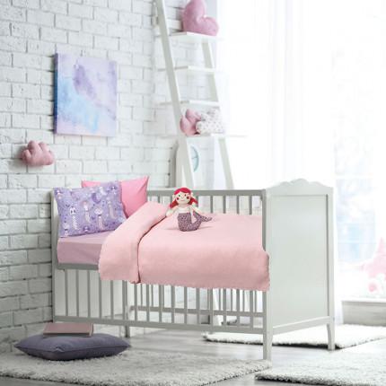 Κουβέρτα Πλεκτή Αγκαλιάς 70x100 Das Home Relax 6482 Ροζ