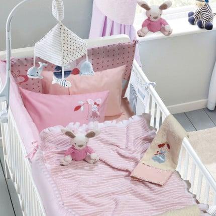Κουβέρτα Πλεκτή Αγκαλιάς 75x100 Das Home Relax 6516 Ροζ