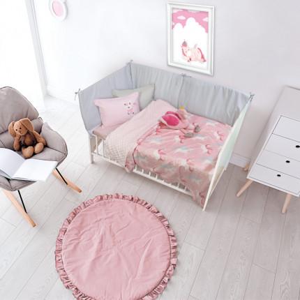 Κουβέρτα Fleece Κούνιας 110x150 Das Home Relax 6550 Ροζ