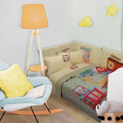 Πάπλωμα Κούνιας 110X150 Das Home Smile 6597
