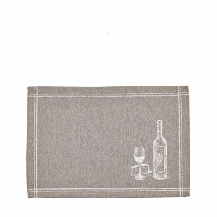 Σουπλα (Σετ 4 Τμχ) 35X50 Kentia Loft Wine Μπεζ