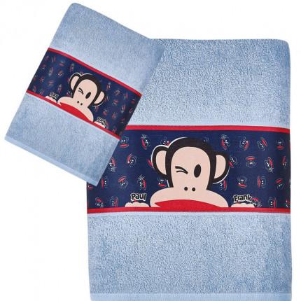 Παιδικές Πετσέτες (Σετ 2 Τμχ) Kentia Paul Frank 27 Μπλε