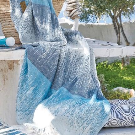 Πετσέτα-Παρεό 90X180 Kentia Stylish Alonissos Μπλε