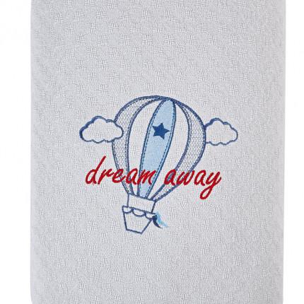 Κουβερτόριο Αγκαλιάς 80x110 Kentia Stylish Airballoon Γκρι