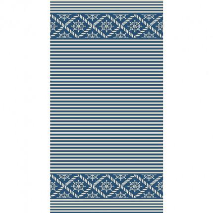 Πετσέτα Θαλάσσης 80X160 Kentia Loft Odyssey Μπλε