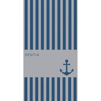 Πετσέτα Θαλάσσης 80X160 Kentia Loft Vira Μπλε