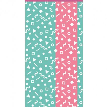 Πετσέτα Θαλάσσης 70X140 Kentia Loft Confetti Πράσινο