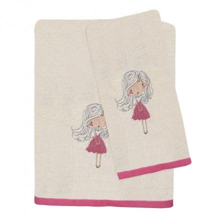 Βρεφικές Πετσέτες (Σετ 2 Τμχ) Das Home Fun Embroidery 4728