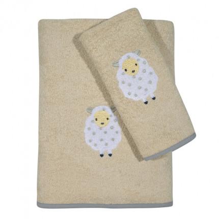Βρεφικές Πετσέτες (Σετ 2 Τμχ) Das Home Smile Embroidery 6595