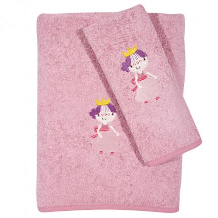 Βρεφικές Πετσέτες (Σετ 2 Τμχ) Das Home Smile Embroidery 6596