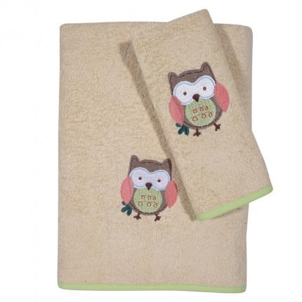 Βρεφικές Πετσέτες (Σετ 2 Τμχ) Das Home Smile Embroidery 6597