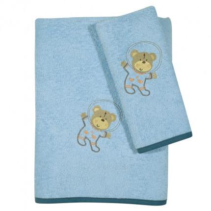 Βρεφικές Πετσέτες (Σετ 2 Τμχ) Das Home Smile Embroidery 6598