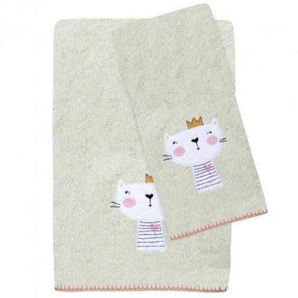 Βρεφικές Πετσέτες (Σετ 2 Τμχ) Das Home Smile Embroidery 6599