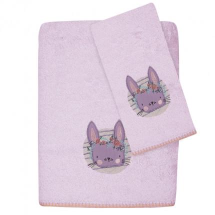 Βρεφικές Πετσέτες (Σετ 2 Τμχ) Das Home Smile Embroidery 6600