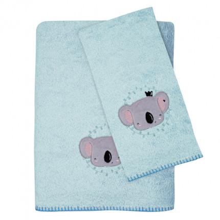 Βρεφικές Πετσέτες (Σετ 2 Τμχ) Das Home Smile Embroidery 6601