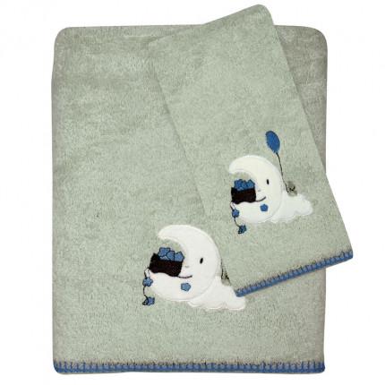 Βρεφικές Πετσέτες (Σετ 2 Τμχ) Das Home Smile Embroidery 6602
