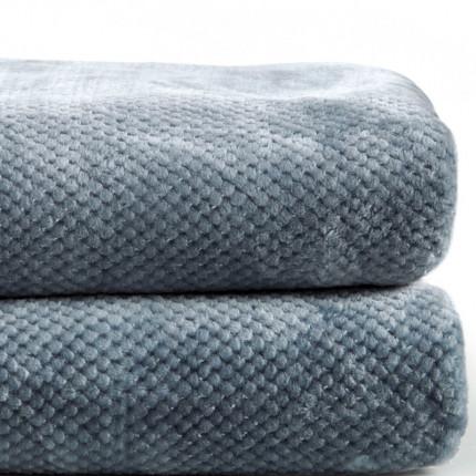 Κουβέρτα Βελουτέ Υπέρδιπλη 220X240 Kentia Loft Bella 01