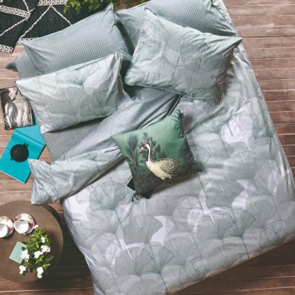 Ζεύγος Μαξιλαροθήκες Oxford 50X70 Kentia Stylish Ginkgo 10A