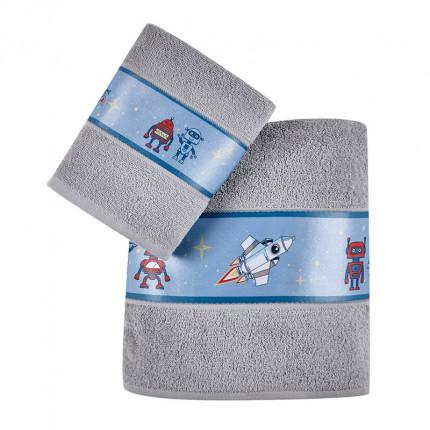 Παιδικές Πετσέτες (Σετ 2 Τμχ) Kentia Loft Corius 2