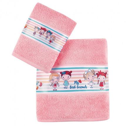 Παιδικές Πετσέτες (Σετ 2 Τμχ) Kentia Loft Danika 2