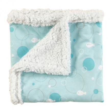 Κουβέρτα Fleece Κούνιας 100X140 Kentia Loft Fishy