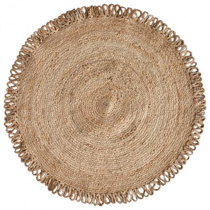 Στρογγυλό Χαλί Σαλονιού Φ120 Kentia Loft Yute 214