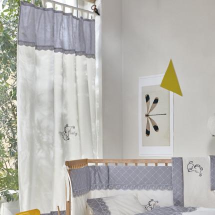 Κουρτίνα Με Θηλιές 140X270 Kentia Serenity Dumbo