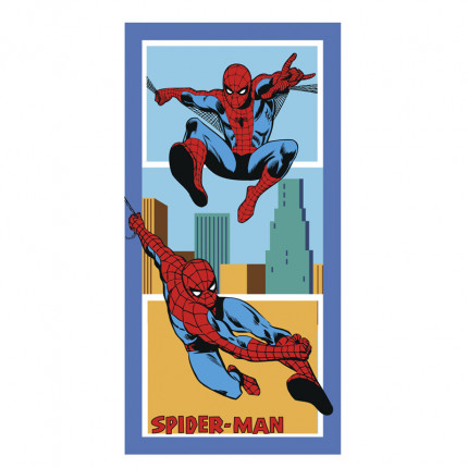 Πετσέτα Θαλάσσης 75X150 Palamaiki Disney Collection Spiderman America