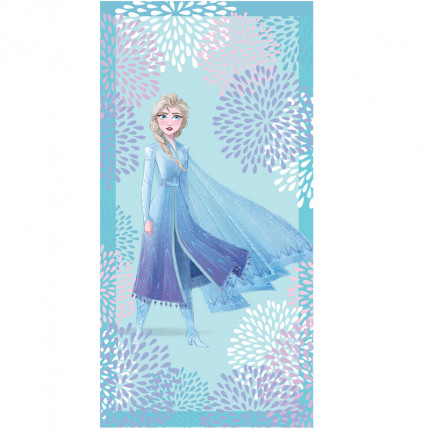 Πετσέτα Θαλάσσης 75X150 Palamaiki Disney Collection Elsa Blue